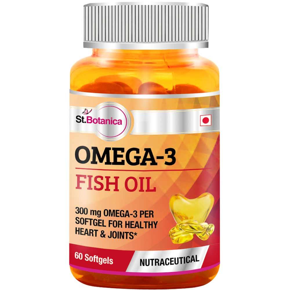 St.Botanica Omega 3 Fish Oil Image