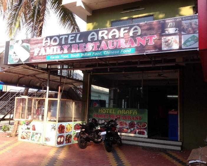 Hotel Arafa - Thalavady - Alappuza Image