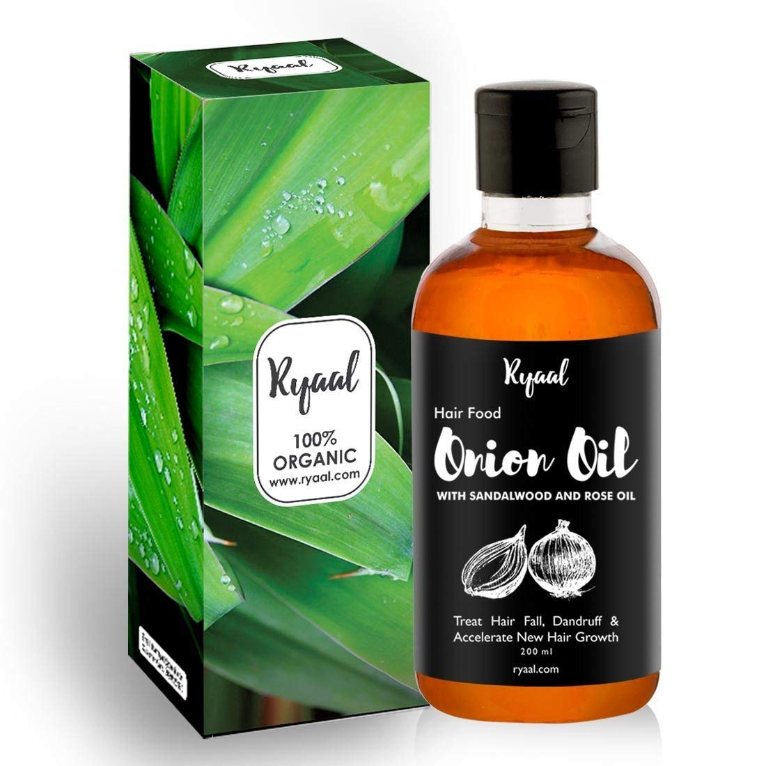 Ryaal Hair Food Onion Hair Oil Image