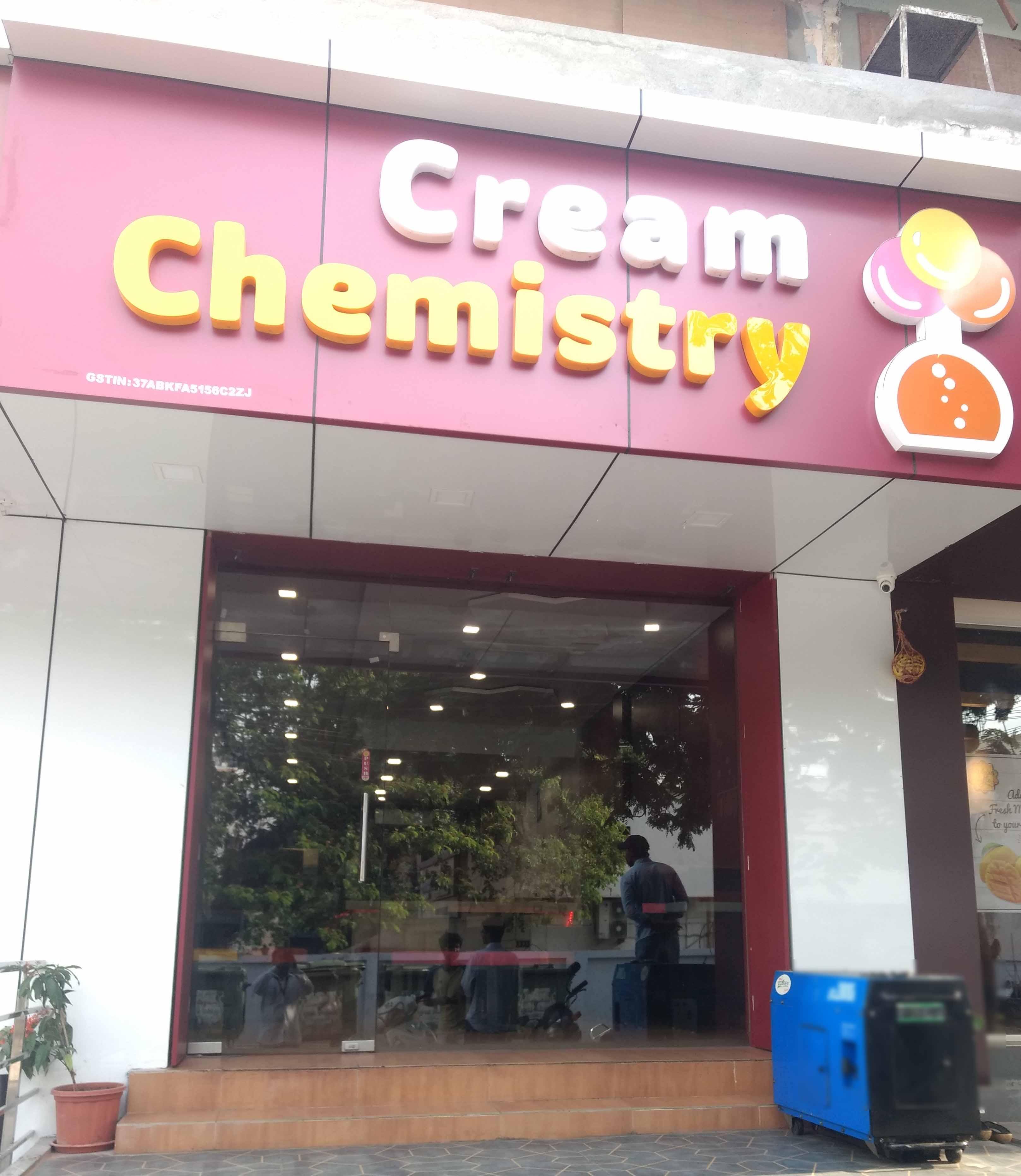 Cream Chemistry - Labbipet - Vijayawada Image