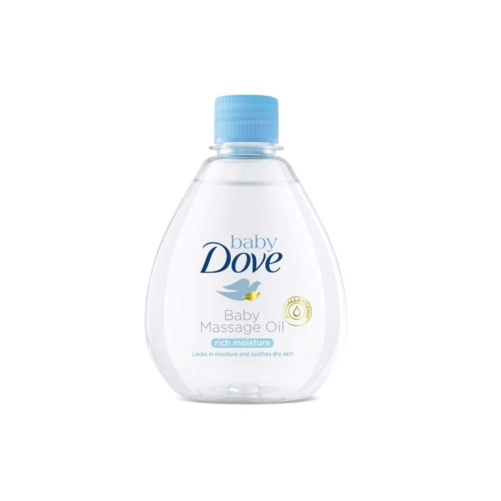 Baby Dove Rich Moisture Baby Massage Oil Image