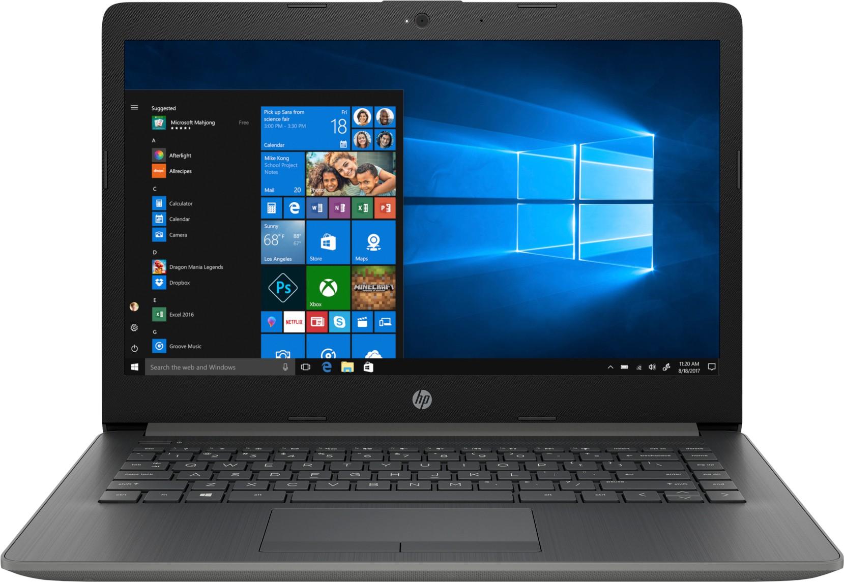 HP 14q Core i3 7th Gen 14q-cs0006tu Laptop Image