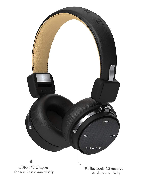 ce9e0cde128 Boult Audio Flex headphones review. Review on Boult Audio Flex Passive  Noise Cancelling Bluetooth Headphones