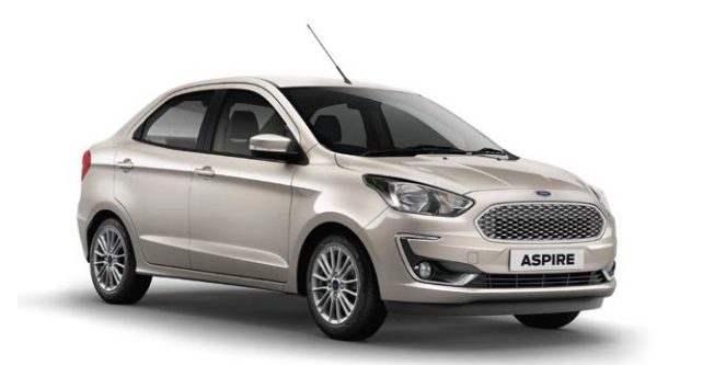 Ford Aspire 2018 Trend Plus 1.2 Ti-VCT Image