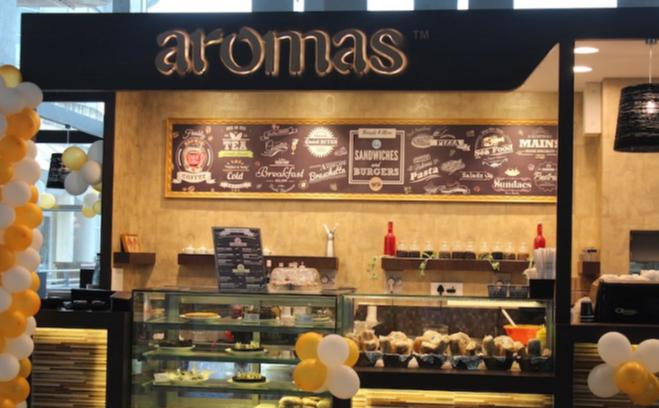 Aromas Cafe - Viviana Mall - Majiwada - Thane Image