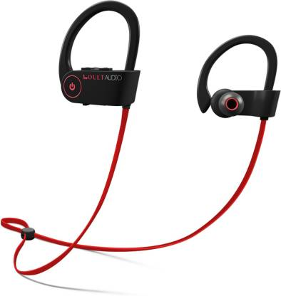 Boult Black Muse Bluetooth Waterproof Earphones with Mic Image