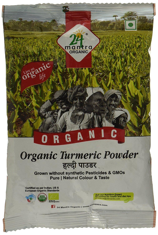 24 Mantra Organic Turmeric Powder Image
