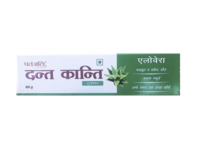 Patanjali Aloe Vera Toothpaste Image