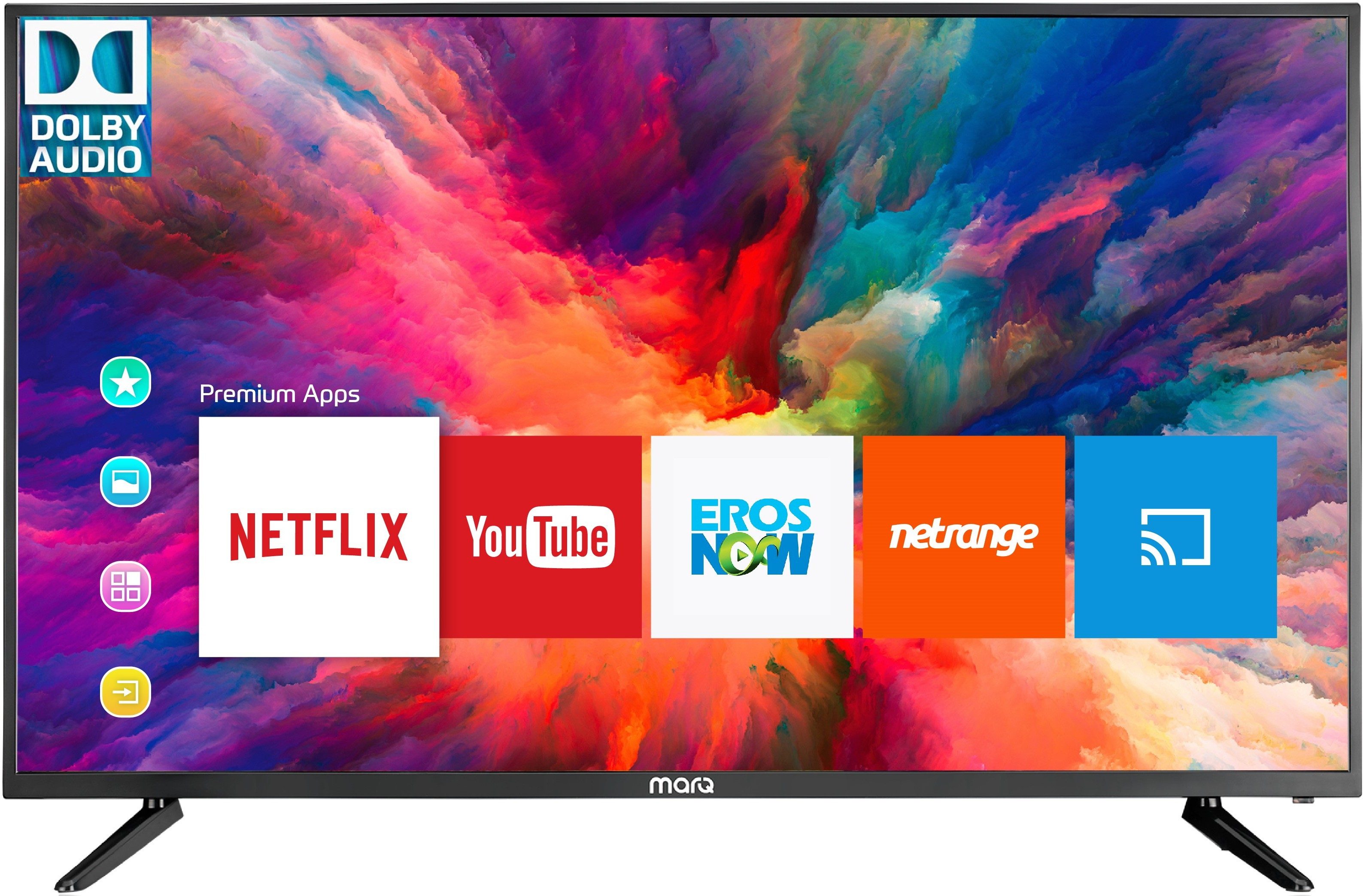 MarQ by Flipkart Dolby (32 inch) HD Ready Smart LED TV Image