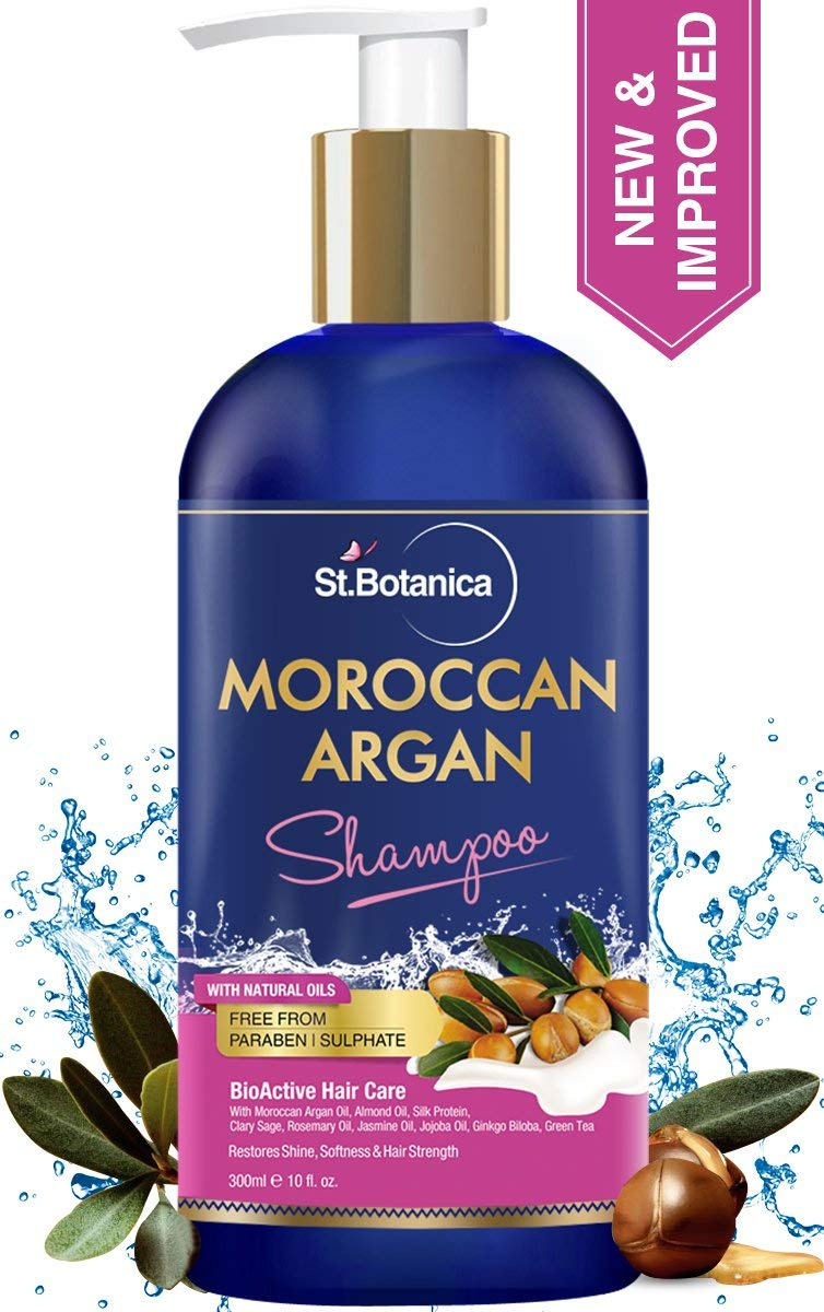 StBotanica Moroccan Argan Hair Shampoo With Organic Argan Oil Image