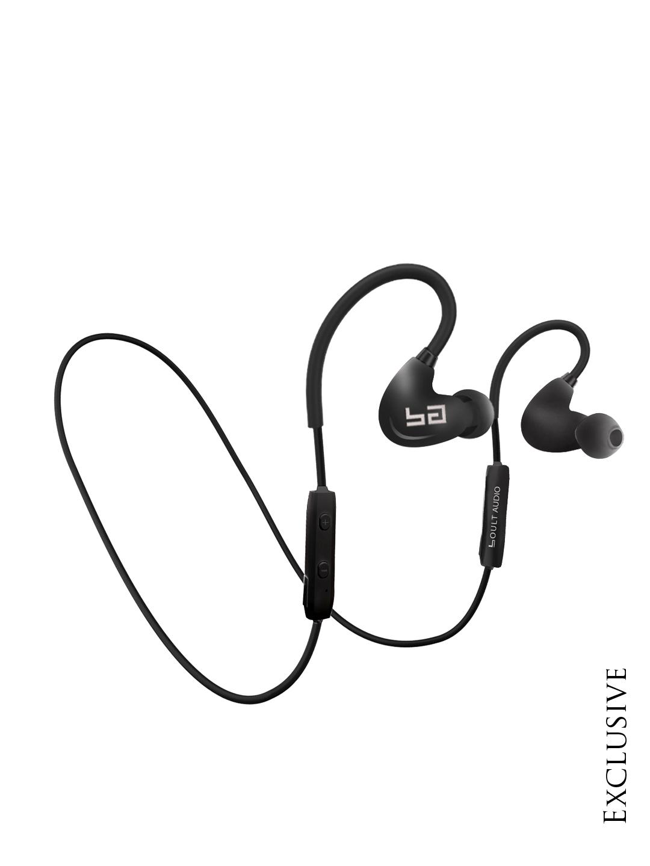 Boult Black StormX Wireless Around-Ear HD Headphones with Mic Image