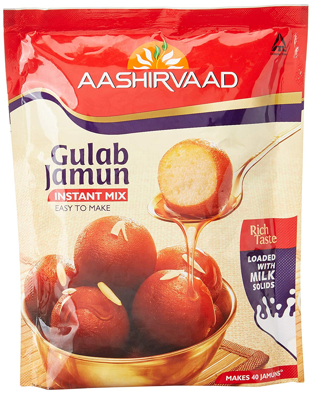 Aashirvaad Instant Mix Gulab Jamun Image