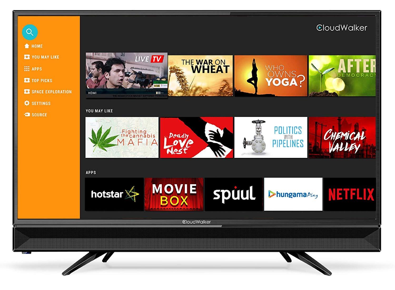 CloudWalker 80 cm (32 inches) 4K Ready Smart HD Ready LED TV 32SHX2 Image