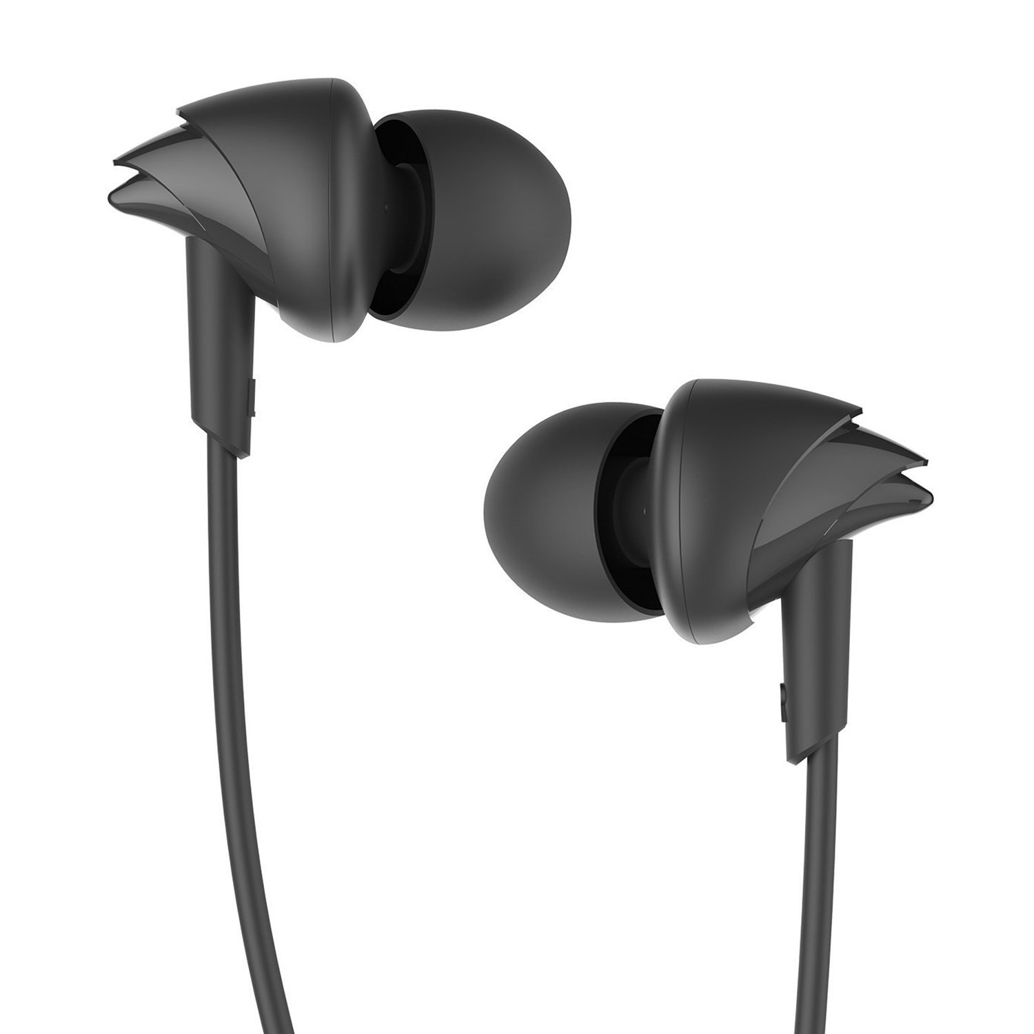 Boat BassHeads 100 in-Ear Headphones with Mic Image