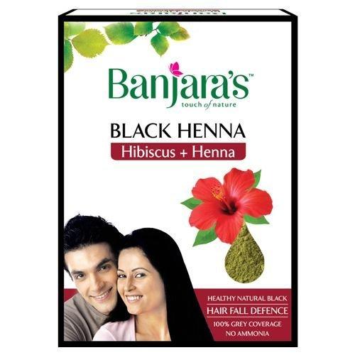 Banjara's Black Henna With Hibiscus Image