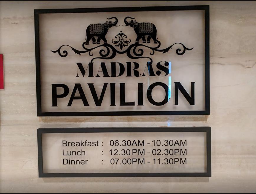 Madras Pavilion - ITC Grand Chola - Guindy - Chennai Image