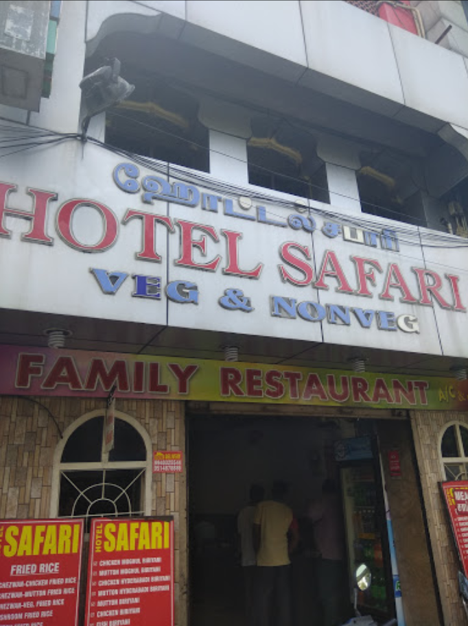 HOTEL SAFARI, ROYAPETTAH, CHENNAI - Reviews, Menu, Order