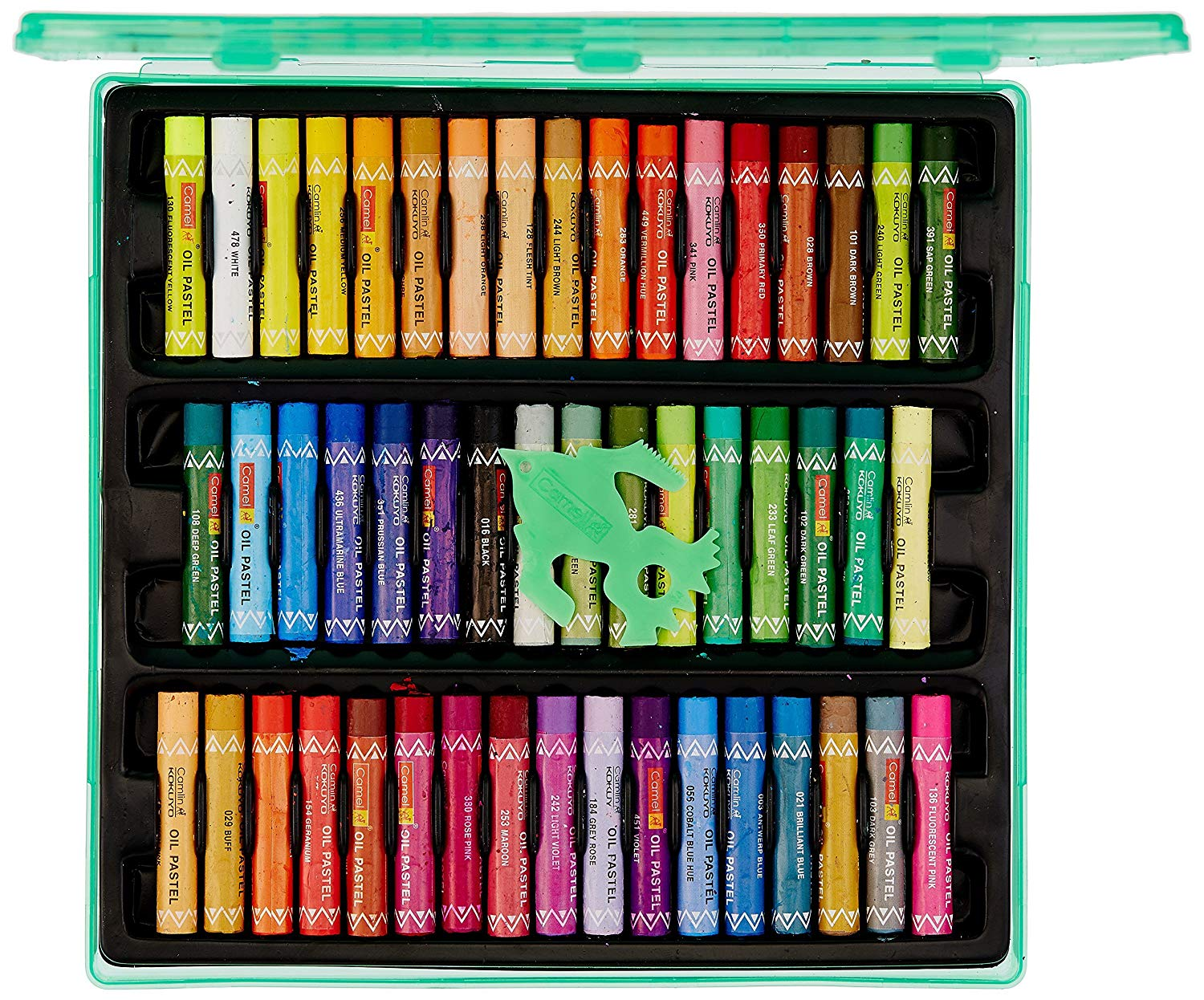 Camel Oil Pastel with Reusable Plastic Box Image