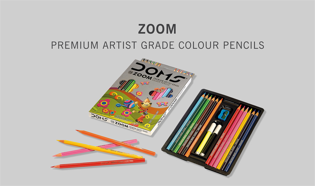 Doms Zoom Premium Colour Pencils Image