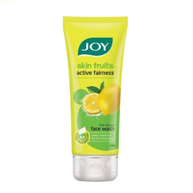 Joy Skin Fruits Active Fairness Lemon Face Wash Image