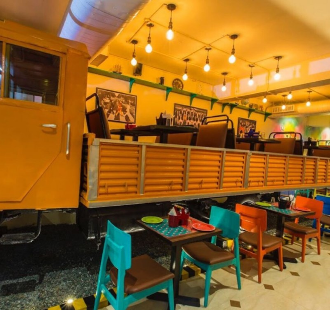 The Orange Truck - Sector 16 - Faridabad Image