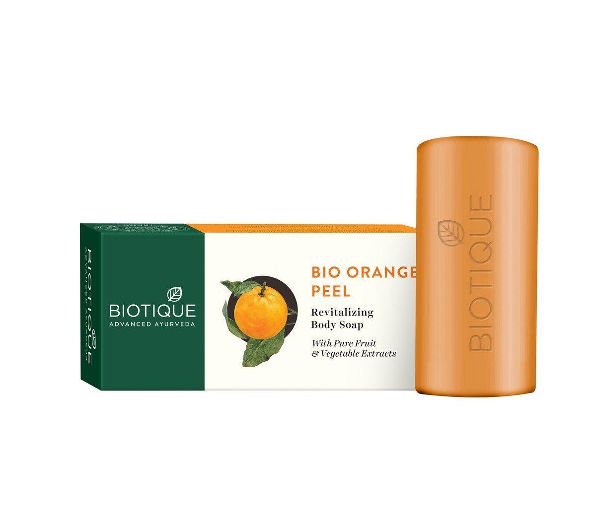 Biotique Orange Peel Body Revitalizing Body Soap Image