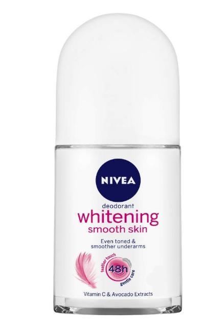 Nivea Whitening Smooth Skin Deodorant Roll On Image