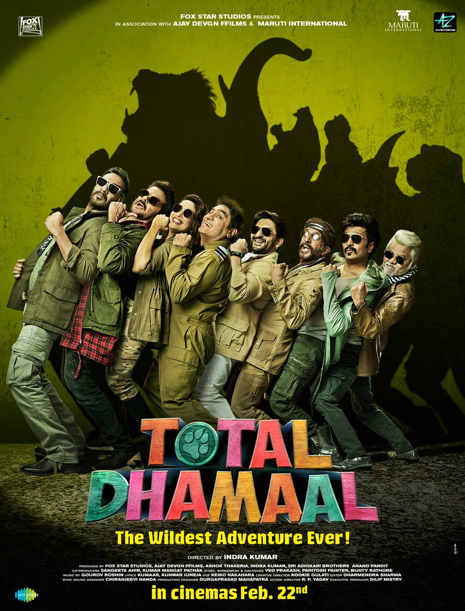 Total Dhamaal Songs Image