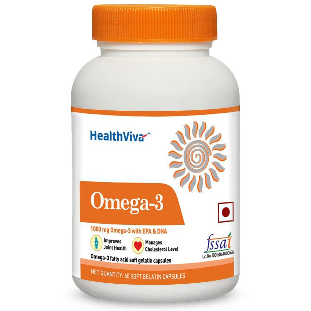 HealthViva Omega 3 Supplement Image