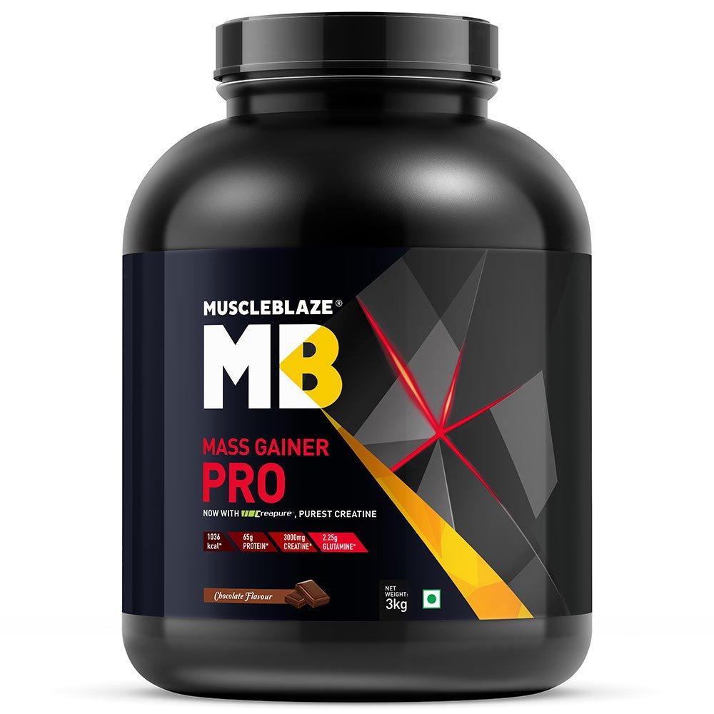 MuscleBlaze Mass Gainer PRO with Creapure Image