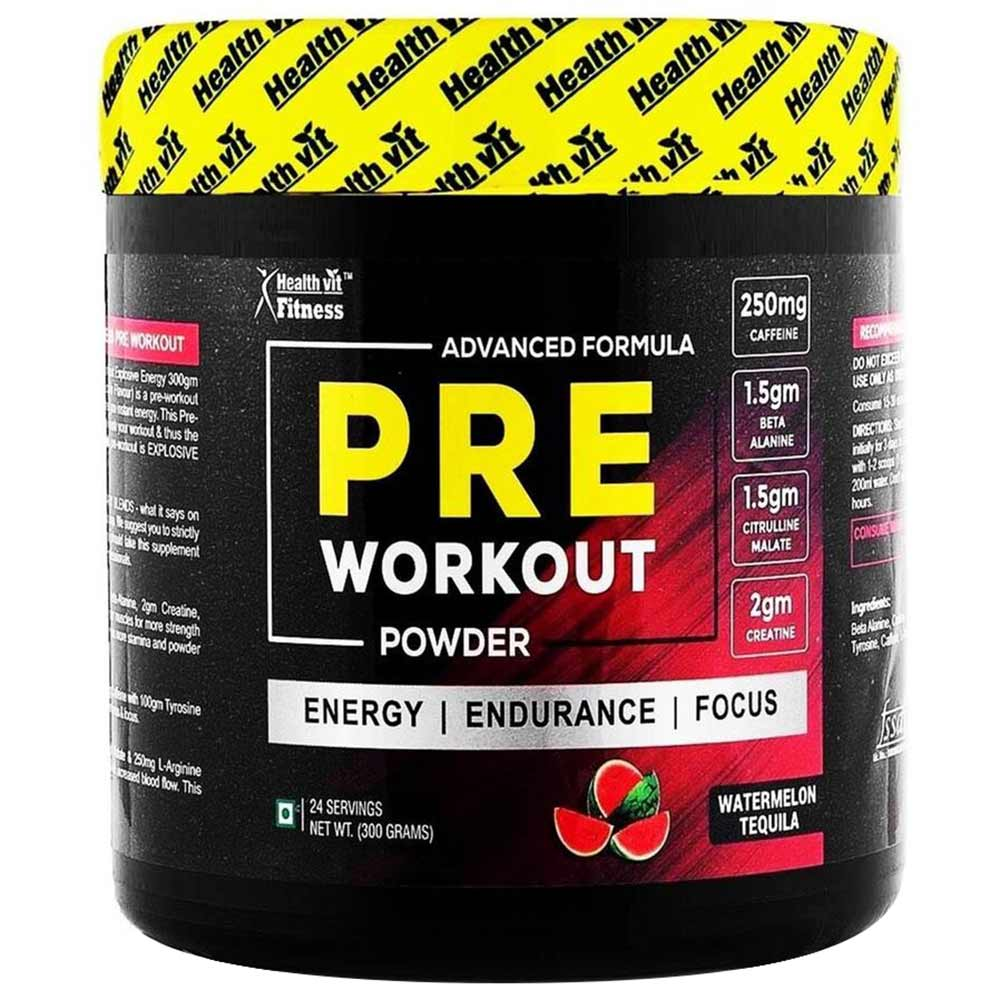 Healthvit Fitness Pre Workout Image