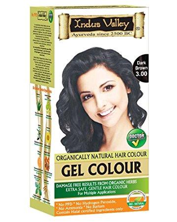 Indus Valley Gel Hair Colour Dark Brown Image