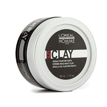 L'oreal Professionnel Homme Clay Strong Hold Matt Clay Image
