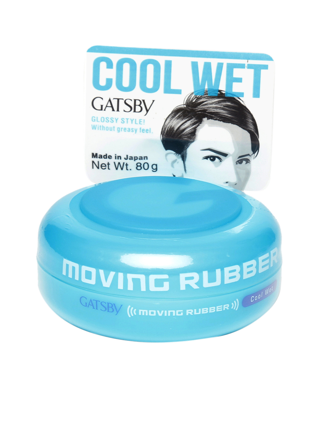 Gatsby Men Moving Rubber Cool Wet Hair Wax Image