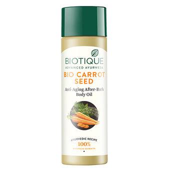 Biotique Bio Carrot Seed Anti-Aging Body Oil Image