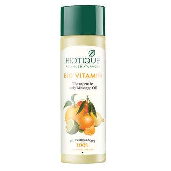 Картинки по запросу Biotique Bio Vitamin Therapeutic Body Massage Oil
