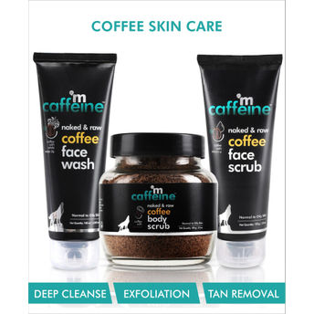 MCaffeine Complete Coffee Skin Care Image
