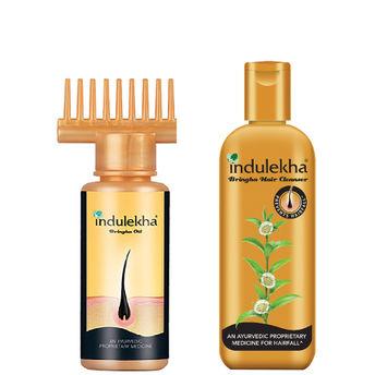 Indulekha Bringha Anti-Hairfall Shampoo Image