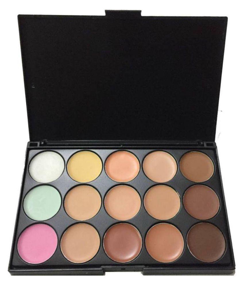 Mac cosmatics 15 colors concealer makeup palatte Makeup Kit Image