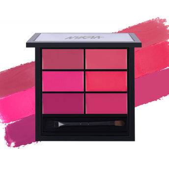 Nykaa Sealed with a Kiss! Lip Palette Image