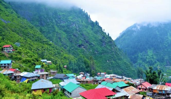 Malana Village - Kangra Image