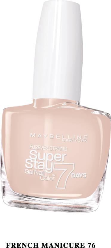 Maybelline Superstay Gel Nail Color Image