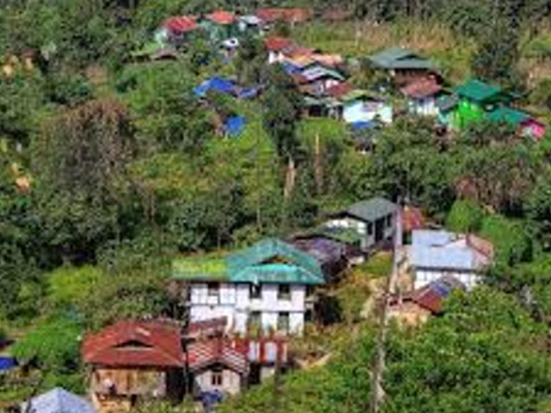 Darap village - West Sikkim Image