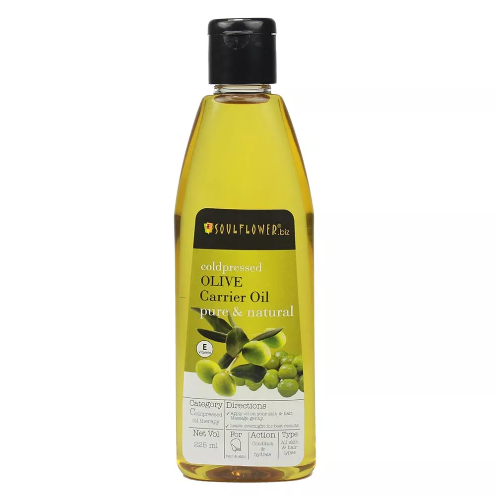 Soulflower Coldpressed Olive Carrier Oil Image