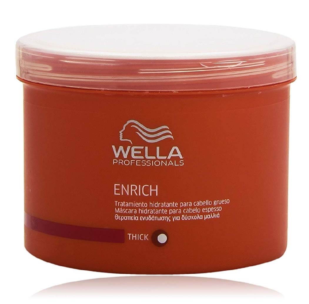 Wella Enrich Moisturizing Treatment for Dry and Damaged Hair Image