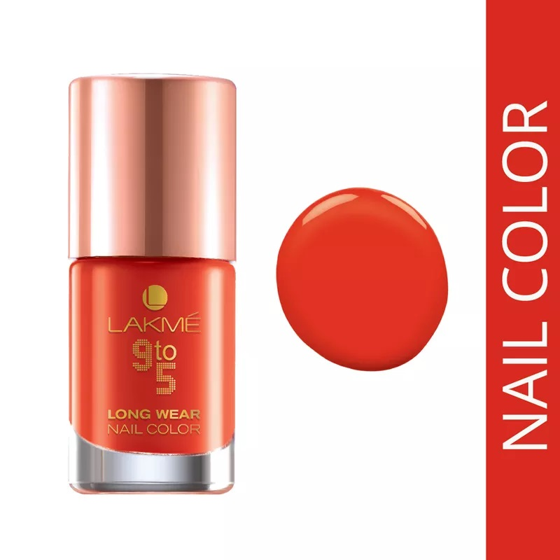 Lakme 9 To 5 Long Wear Nail Color Image