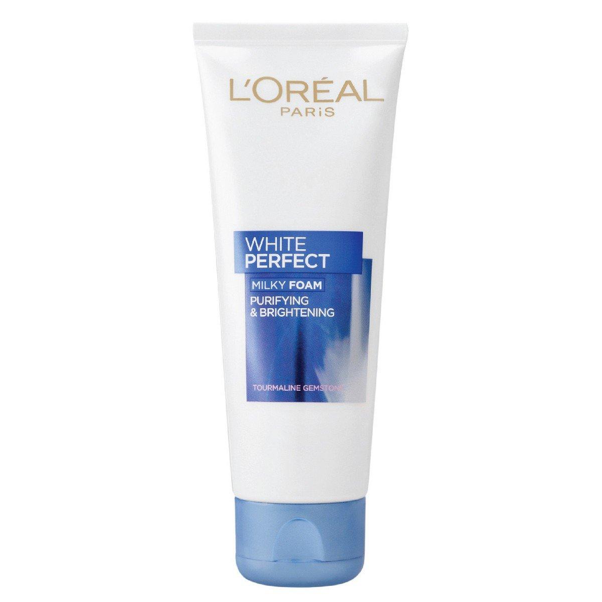 L'Oreal Paris White Perfect Milky Foam Facewash Image