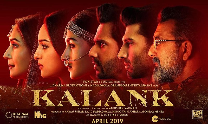Kalank Songs Image