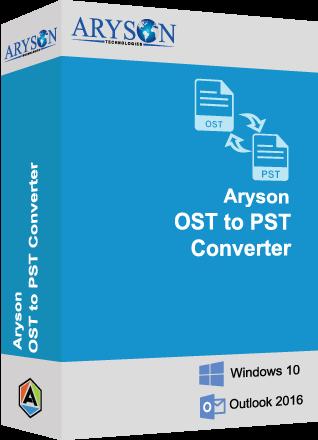 Aryson OST to PST Converter Image