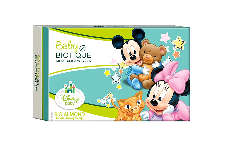Biotique Disney Baby Bio Almond Mickey Nourishing Soap Image